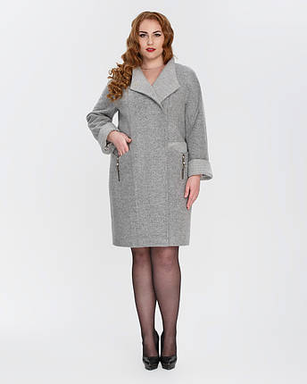 Женское демисезонное пальто - М 2160, фото 2