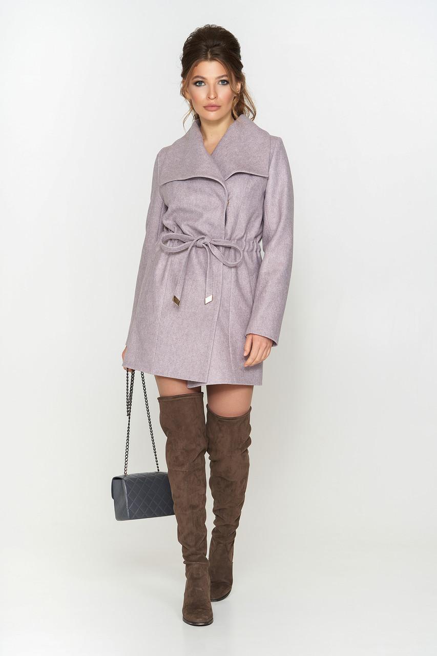 """Женское демисезонное пальто """"Мадрид"""",шерсть елка"""