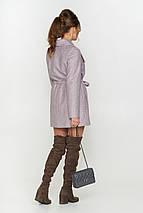 """Женское демисезонное пальто """"Мадрид"""",шерсть елка, фото 2"""