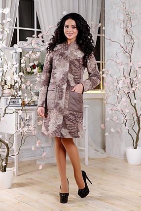 Женское демисезонное пальто В-1108 Seul Jaco Тон 7510, фото 2