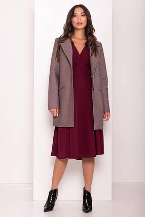 Женское демисезонное пальто Эрли 8010, фото 2