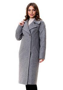 Женское оригинальное демисезонное  пальто София