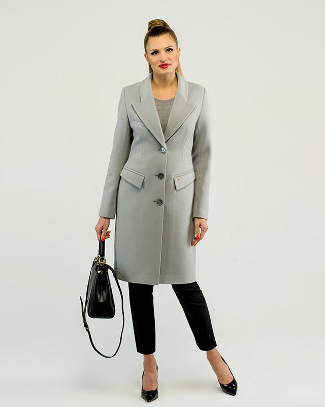 Женское пальто приталенное классика М-1276