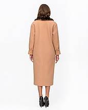 Женское зимнее пальто классика с меховой отделкой М-5094, фото 3