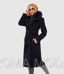 Шикарное зимнее женский пальто в 4х цветах ПВ-97