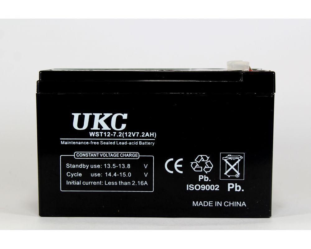 Аккумулятор BATTERY 12V 7A UKC, аккумуляторная батарея