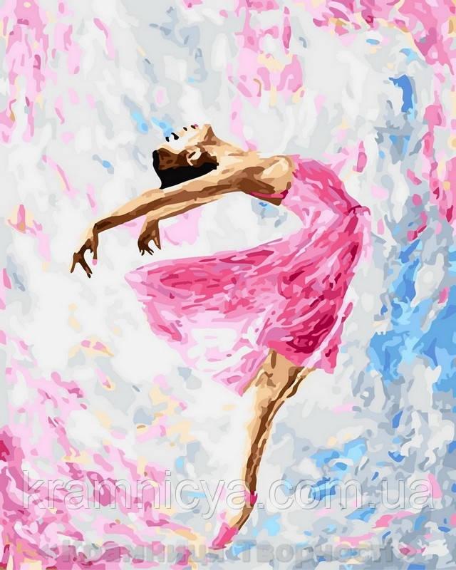 Картина по номерам 40x50 Полёт в танце, Rainbow Art (GX29767)