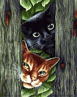 Картина по номерам 40x50 Через забор, Rainbow Art (GX29802), фото 1