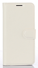 "Кожаный чехол-книжка для Sony Xperia XA Ultra Dual / C6 Ultra (6"") белый"
