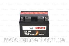 Мото аккумулятор BOSCH M6 AGM ЛЕВ [+] 12V 11AH 230A 150x88x110 Bosch 0092M60170 (TTZ14S-BS / YTZ14S-BS)