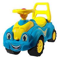 Детская машинка-каталка (толокар) Технок для прогулок (голубой)