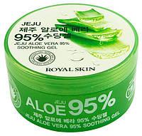 Гель с алоэ Royal Skin Jeju Aloe Vera 95% 300 мл