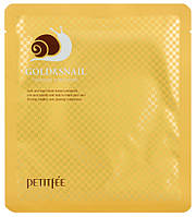 Маска гидрогелевая для лица Petitfee Gold & Snail 30 мл*5 шт