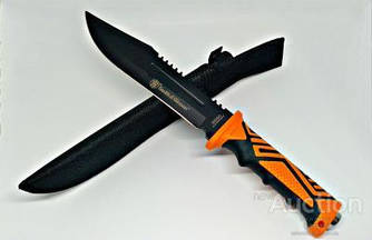 Большой Охотничий нож Smith & Wesson 31 см ( антиблик ) + нoжны