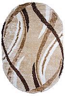 Овальный ковёр с длинным ворсом Shaggy