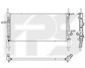 Радиатор Форд Транзит 06- / FORD TRANSIT (2006-2013)