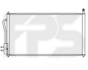 Радиатор кондиционера Форд Фокус 98-04 / FORD FOCUS I (1998-2004)