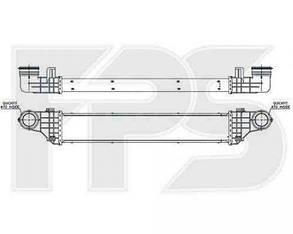 Интеркулер Мерседес E-Class W211 (2002-2009) / MERCEDES E-Class W211 (2002-2009)