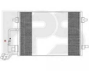 Радиатор кондиционера Вольксваген Пассат (B5) / VOLKSWAGEN PASSAT B5 (1997-2005)