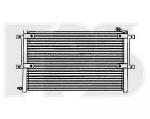Радиатор кондиционера Вольксваген Кадди 95-04 / VOLKSWAGEN CADDY (1995-2004)