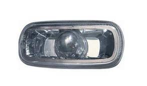 Левый (правый) указатель поворота Ауди A6 на крыле прозрачн. без лампы / AUDI A6 C5 (1997-2005)
