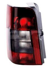 Левый задний фонарь кузов 2 DOOR дымчатая вставка без платы Ситроен Берлинго 97-05 / CITROEN BERLINGO (1997-2002)