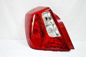 Левый задний фонарь без патронов Шевролет Лачетти кузов седан / CHEVROLET LACETTI SEDAN/VAN (2003-2013)