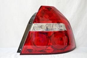 Правый задний фонарь без патронов Шевролет Авео / VIDA T250 2006-2009 / CHEVROLET AVEO T250 (2006-2011)