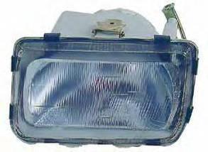 Правая фара Форд Сиерра -87 (1 лампа) / FORD SIERRA (1982-1987)