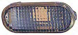 Левый (правый) указатель поворота Вольксваген Поло III на крыле белый овальный без лампы / VOLKSWAGEN POLO III (1994-2001)