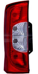 Левый задний фонарь кузов 2 DOOR под лампы PY21W/P21W/P21W/P21/4W Пежо Биппер / PEUGEOT BIPPER (2007-)