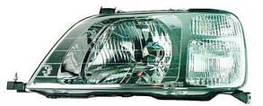 Левая фара Хонда ЦРВ -01 механическая/электрическая регулировка / HONDA CRV (1997-2001)