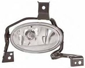 Правая фара противотуманная Хонда ЦРВ 10-12 под лампу h11 без рамки без лампы / HONDA CRV (2006-2012)