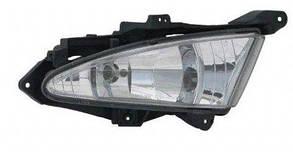 Левая фара противотуманная  Хюндаи Элантра 06-10 с крепежом без лампы / HYUNDAI ELANTRA (2006-2010)