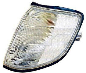 Левый указатель поворота Мерседес W140 1991-93 белый без патрона / MERCEDES S-Class W140 (1991-1998)