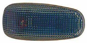 Левый (правый) указатель поворота Мерседес 207/410 дымч. овальный без лампы / MERCEDES 207/410 (1977-1995)