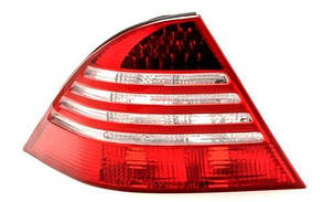 Левый задний фонарь тип LED, без платы Мерседес 220 02-05 / MERCEDES S-Class W220 (1998-2005)