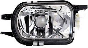 Правая фара противотуманная Мерседес 219 04-10 (C219 CLS) прозрачн. без лампы / MERCEDES CLS-Class C219 (2004-2010)