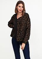 Пиджак женский Maison Scotch цвет леопардовый размер 4 арт 101940-16-FWLM-А31