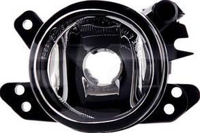 Левая фара противотуманная Мерседес 219 04-10 (C219 CLS) под лампу h11 круглая без лампы / MERCEDES CLS-Class C219 (2004-2010)