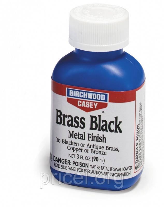 Средство для воронения меди, латуни, бронзы Birchwood Casey Brass Black 3 oz/ 90 мл (15225)