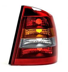 Правый задний фонарь кузов седан, красно-дымчатый, без платы Опель Астра G / OPEL ASTRA G (1998-2010)