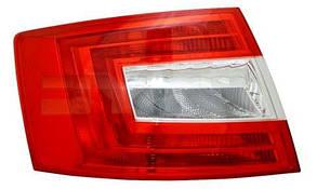 Левый задний фонарь Шкода Октавиа A7, кузов LIFTBACK, без ламп / SKODA OCTAVIA A7 (2013-)
