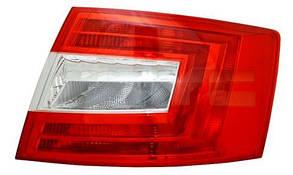 Правый задний фонарь Шкода Октавиа A7, кузов LIFTBACK, без ламп / SKODA OCTAVIA A7 (2013-)