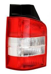 Левый задний фонарь Вольксваген T5, кузов 1 дверь, красно-белый, без платы / VOLKSWAGEN Transporter T5 (2003-)
