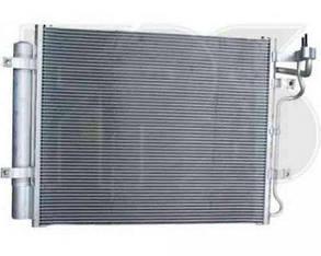 Радиатор кондиционера Киа Черато 04-09 / KIA CERATO (2004-2009)