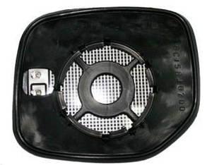 Левый вкладыш зеркала Ситроен Берлинго -07 с обогревом выпуклый / CITROEN BERLINGO (1997-2002)