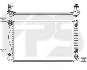 Радиатор Ауди A6 05-11 (C7) / AUDI A6 C7 (2011-)