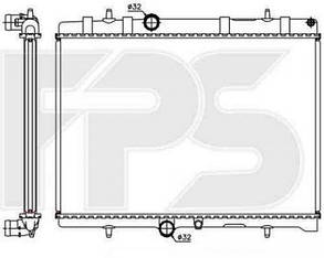 Радиатор Пежо 207 / PEUGEOT 207 (2006-2012)