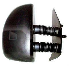 Правое зеркало Фиат Дукато -06 электрический привод; с обогревом; текстура; выпуклое; long arm 99- / FIAT DUCATO (1994-2002)
